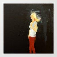 Figure/Light Canvas Print
