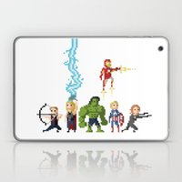 Avenging Pixels Laptop & iPad Skin
