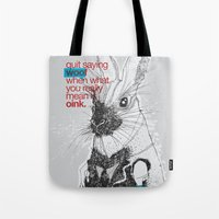 Politics Tote Bag
