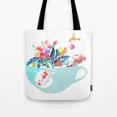 Tropical milk dream Tote Bag
