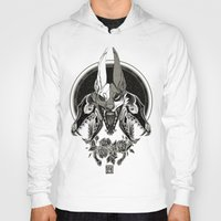 Hoodies featuring Malediction by CanisAlbus