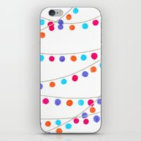 Circle Bunting iPhone & iPod Skin