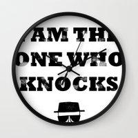 Heisenberg - The One Who Knocks Wall Clock