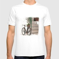 Italy 2 Mens Fitted Tee White SMALL
