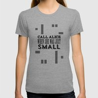 Alice Womens Fitted Tee Tri-Grey SMALL