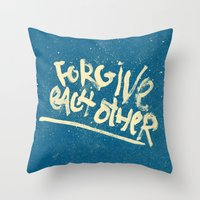 Take Care of Each Other, Part 5 Throw Pillow