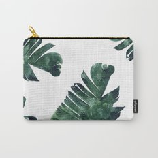 Banana Leaf Watercolor Pattern #society6 Carry-All Pouch