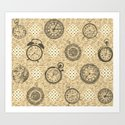 Time doesn't stop Art Print