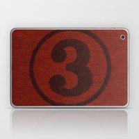 number series: #3 Laptop & iPad Skin