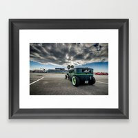 Hot Rod, Rat Rod Framed Art Print