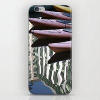 Kayak Reflections iPhone & iPod Skin