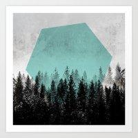 Woods 3 Art Print