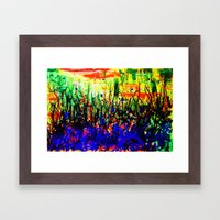 Intangible Forest Framed Art Print