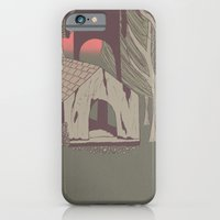 iPhone Cases featuring Watching you by Fernanda S.