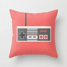 #48 NES Controller Throw Pillow