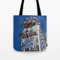 The London Eye Rugby World Cup 2015 Tote Bag