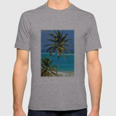 SEA DREAMING Mens Fitted Tee Athletic Grey SMALL