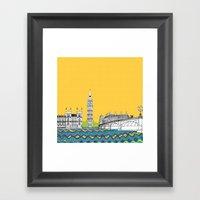 London Town Pop Art With… Framed Art Print