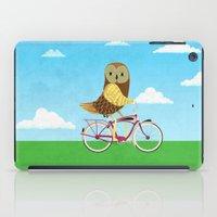 Owl Bicycle iPad Case
