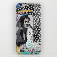 KATE MOSS TRIBE iPhone & iPod Skin