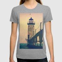 Beacon Womens Fitted Tee Tri-Grey SMALL
