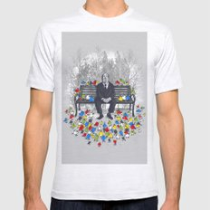 Them Birds SMALL Mens Fitted Tee Ash Grey