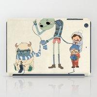 Knitting Train iPad Case
