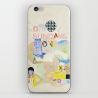 ON SUNDAYS I DON'T TALK iPhone & iPod Skin