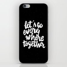 Everywhere iPhone & iPod Skin