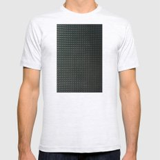 metal pattern Mens Fitted Tee Ash Grey SMALL