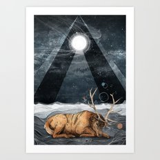 The Unsleeping Dream Art Print