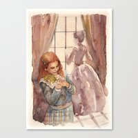Wendy and Mrs. Darling Canvas Print
