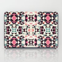 iPad Case featuring Retro Light Tribal by Beth Thompson