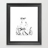 Eye Wear It Framed Art Print