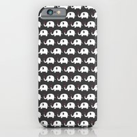 iPhone & iPod Case featuring Elephants in love by ItsJessica