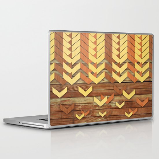 ZigZag Woody Laptop & iPad Skin
