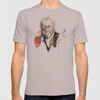Curtis Mayfield Mens Fitted Tee Cinder SMALL