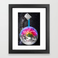Canopy Of Color Framed Art Print