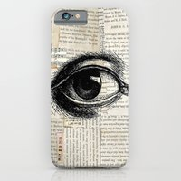 Vintage Eye iPhone 6 Slim Case