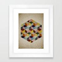Dimension Framed Art Print