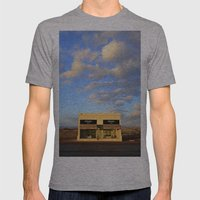 West Texas Art Installat… Mens Fitted Tee Athletic Grey SMALL