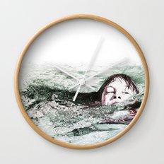 Go Swimming Wall Clock
