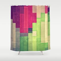 xprynng lyyns Shower Curtain