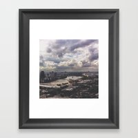 London Above Framed Art Print