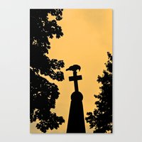 Catching Halloween Canvas Print