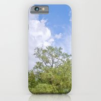Green skycrapers iPhone 6 Slim Case