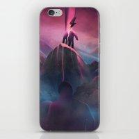 Bruised Beautiful Dreams iPhone & iPod Skin