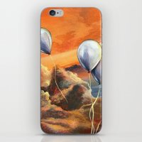 Balloons in the Sunset iPhone & iPod Skin