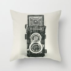 To photograph... Throw Pillow
