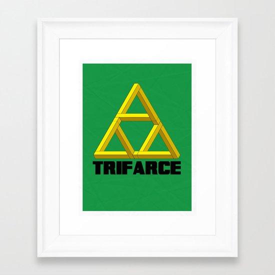 Trifarce Framed Art Print